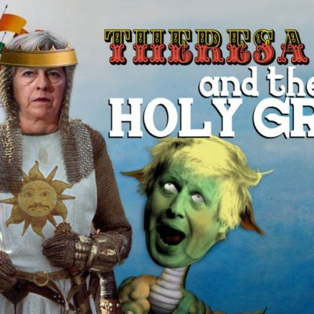 Theresa May loses her majority but still seeks the Holy Grail