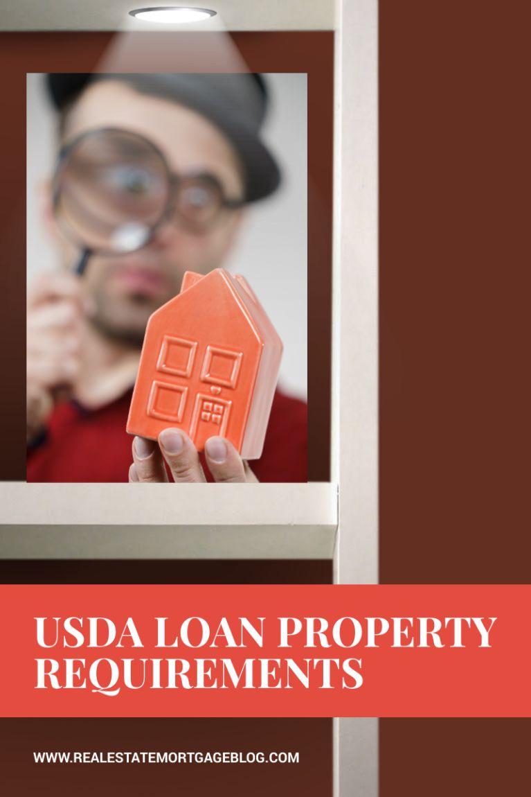 USDA Rural Housing Mortgage Minimum Property Requirements