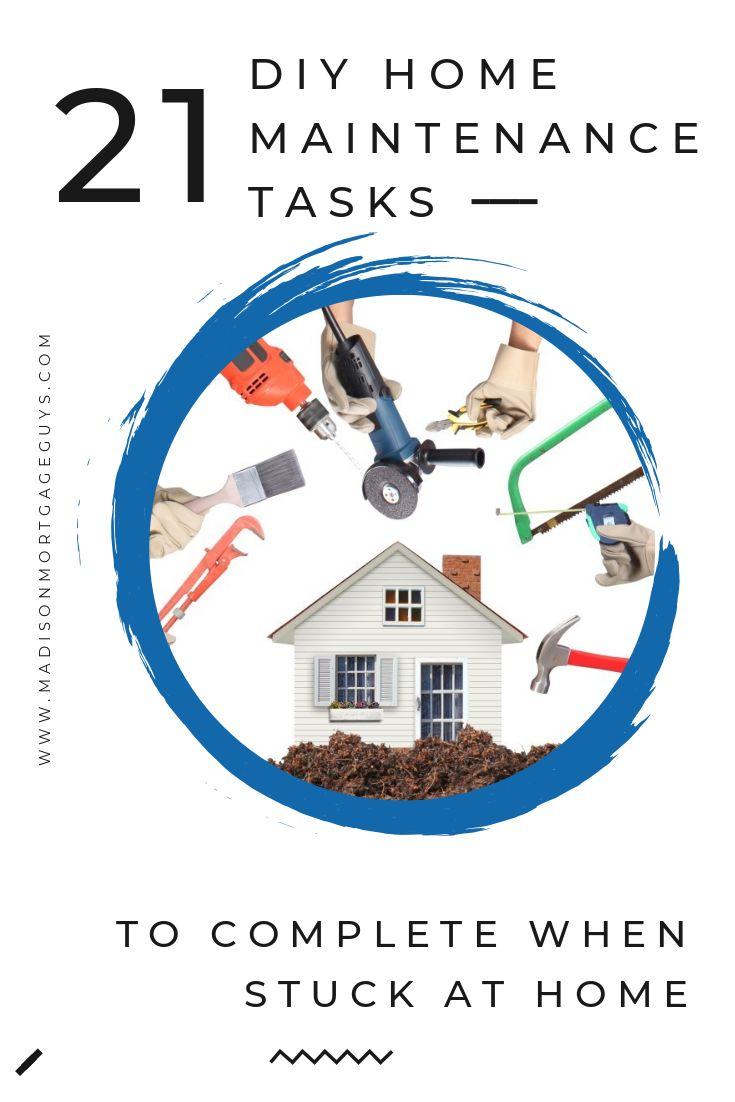 21 DIY Home Maintenance Tasks