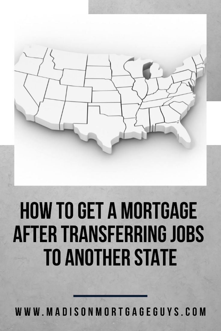 Getting a mortgage after transferring jobs
