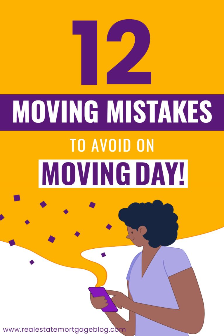Moving Mistakes That You Must Avoid