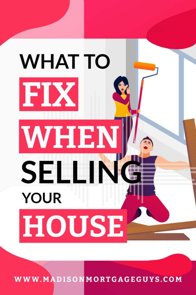 What To Fix Before Selling A House