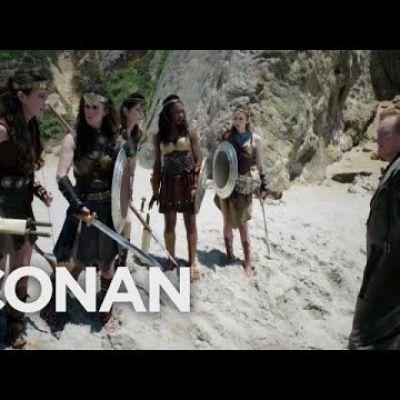 "Conan's ""Wonder Woman"" Cold Open"