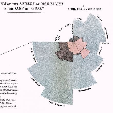 Florence Nightingale Saved Lives by Creating Revolutionary Visualizations of Statistics in 1855