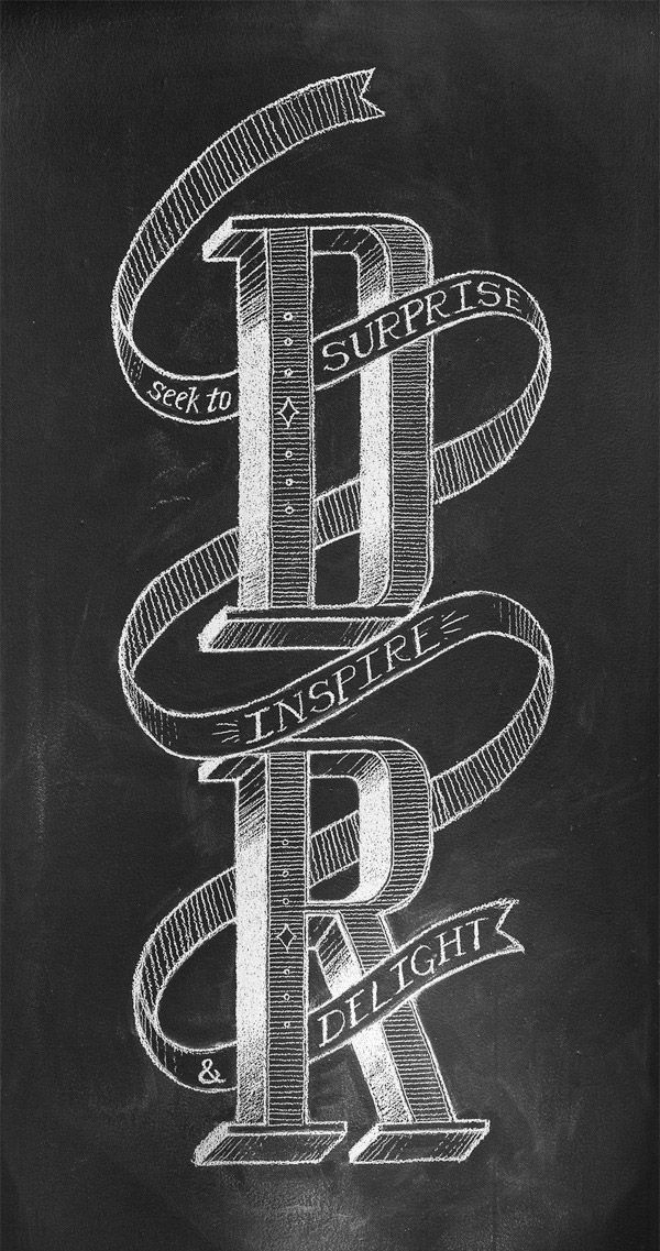 DANIEL RICHARDS LETTERING BY CHRIS YOON