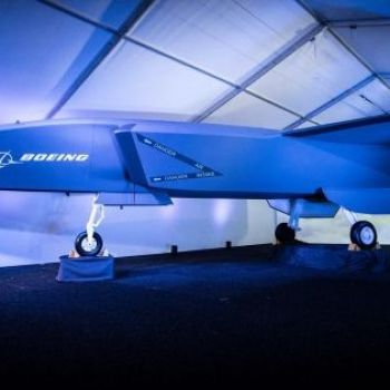 Death from above: Boeing unveils autonomous fighter jet