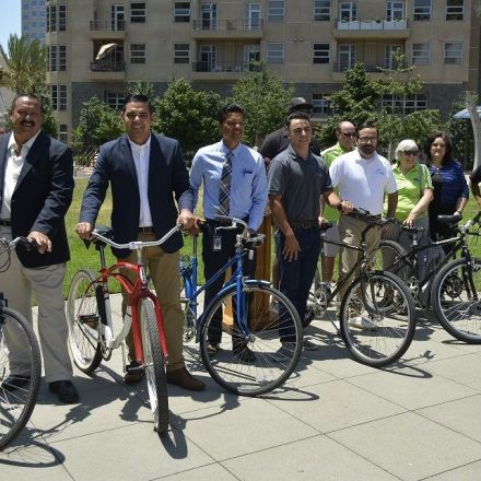 City Donates Recycled, Refurbished Bikes to Local At-Risk Youth