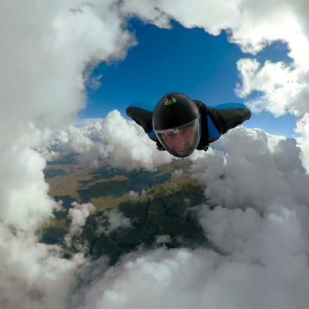 Epic Cloud Cave Wingsuit in Fusion Overcapture