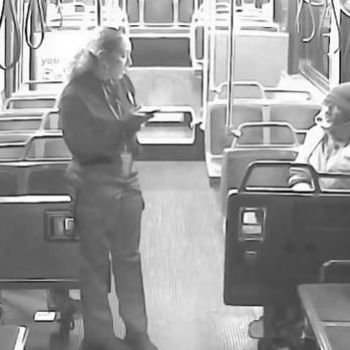 Bus driver buys homeless rider dinner, lets him stay on warm bus all night