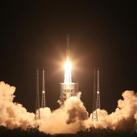 China's long march to the Moon began with a bang this weekend