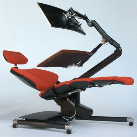 Sit? Stand? Nifty new workstation lets you lie down on the job