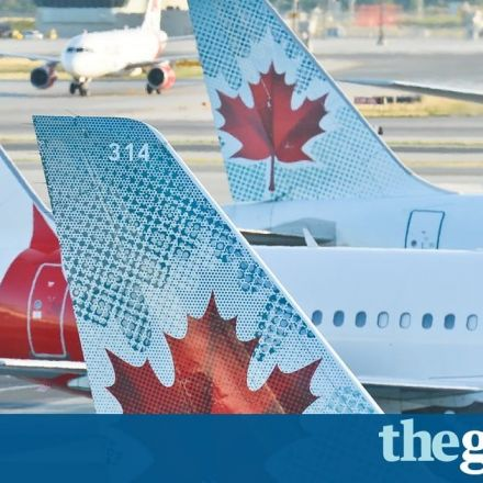 Air Canada near miss: picture shows how close planes came to crashing