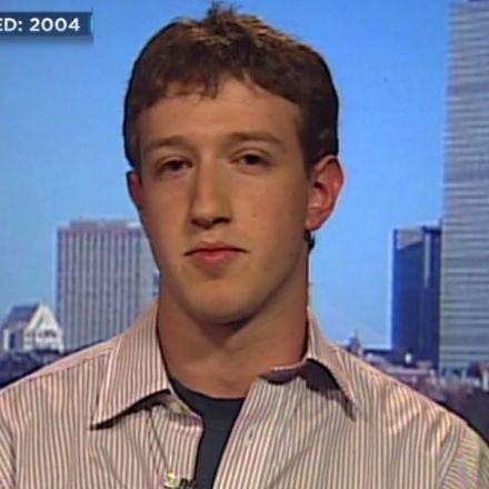 See Zuckerberg's first-ever TV interview in 2004