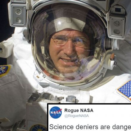 NASA scientists join resistance with rogue Twitter account