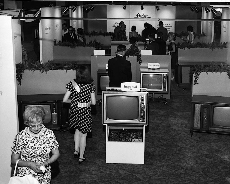 The first Consumer Electronics Show was held in June of 1967 in New York City. There were 14 total exhibitors, including LG, Motorola, and Philips, with about 100,000 square feet of exhibit space.