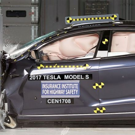 Tesla Model S Rated 'Acceptable' in IIHS Crash Test, Tesla Lashes Back