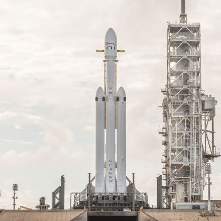 The middle booster of SpaceX's Falcon Heavy rocket failed to land on its drone ship