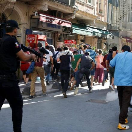 Istanbul: Police use rubber bullets, dogs to break up banned gay pride march