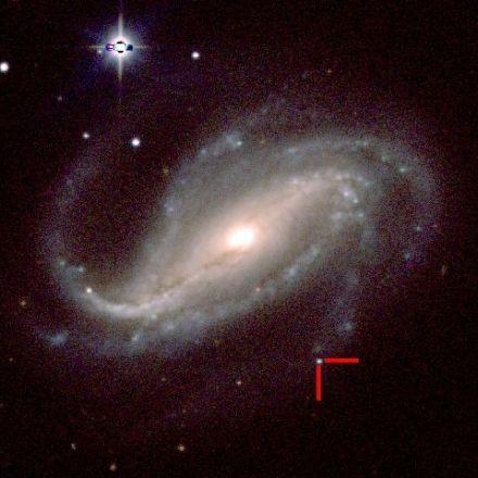 Amateur astronomer gets 1-in-10-million shot of supernova's first lig