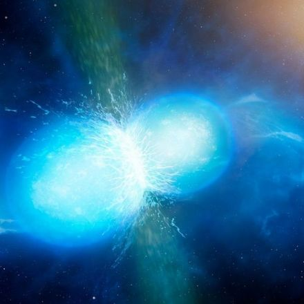 The first known heavy element created in a neutron star merger has been found