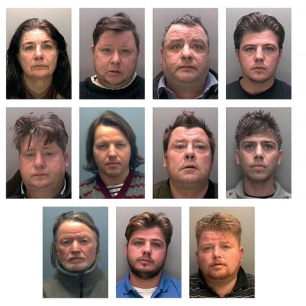 Eleven members of same family convicted for slavery