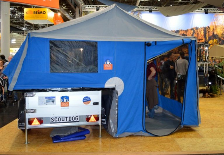 Canvas Popup trailers are an economical and popular option for people who want to use the family car and still have room for a family.