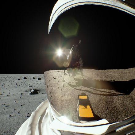 Turing Recreates Scene of Iconic Lunar Landing