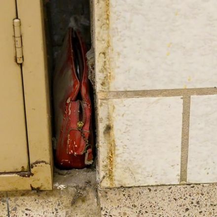 A lost purse from 1957 was discovered inside a wall of an Ohio school