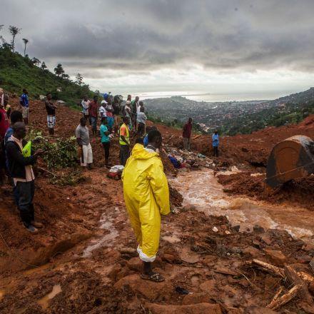 'All We See Is Dead Bodies': Floods and Mudslides Ravage Sierra Leone