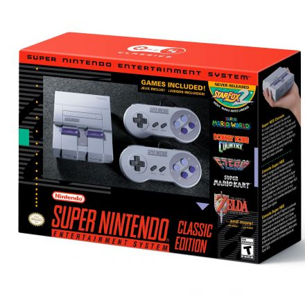 Nintendo Unveils SNES Classic – Coming Out in September, Includes Unreleased Star Fox 2
