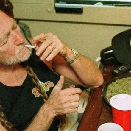Willie Nelson Said Weed 'Saved My Life,' Kept Him From Killing People