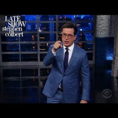 Stephen Returns From Russia With An Apology For Trump