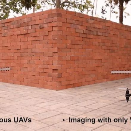 Researchers train drones to use Wi-Fi to look throughwalls