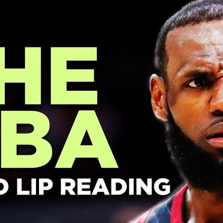 """THE NBA"" — A Bad Lip Reading"