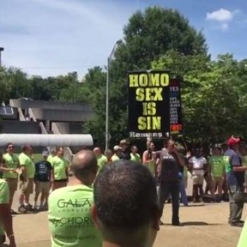 Gay Men's Chorus Drowns Out Christian Bigots During Knoxville Pride Festival