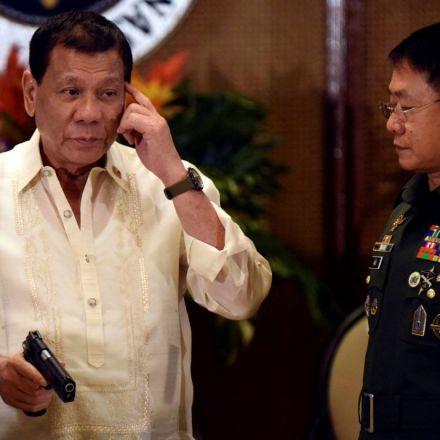 "Duterte says he'll bomb schools that teach ""children to rebel"""