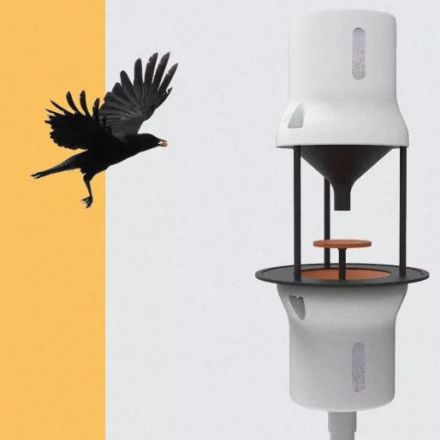 Crowbars: Vending Machines Reward Crows for Cleaning Up Cigarette Butts