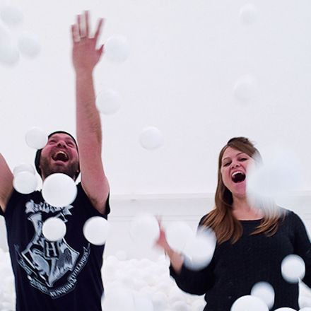 A Ball Pit for Adults Just Opened in London — And Every City Should Have One