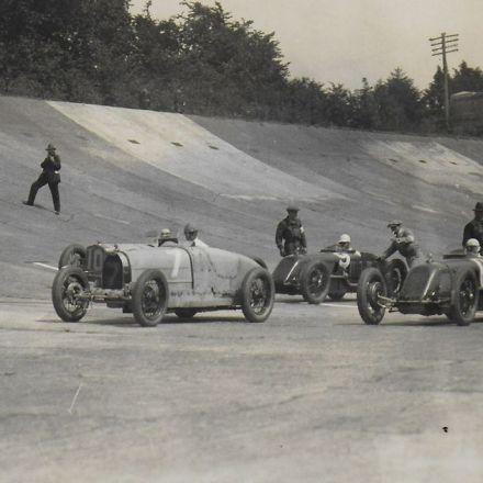 Amazing photos show first Brooklands British Grand Prix in 1926