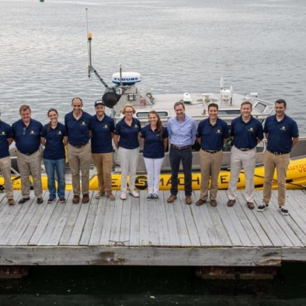 """""""World's first"""" autonomous oil spill boat takes to the water"""