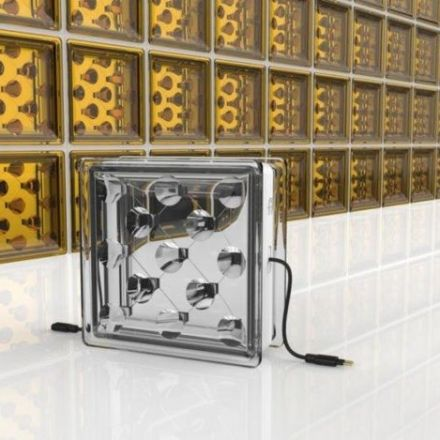 Revolutionary glass building blocks generate their own solar energy