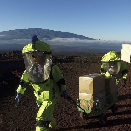 Mars researchers emerge after 8 months of isolation on Hawaii volcano