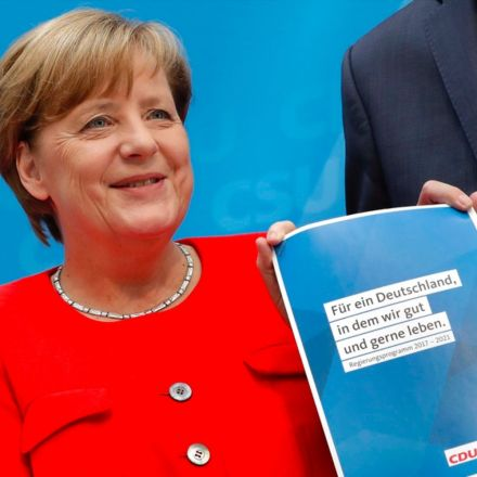 "Angela Merkel's party no longer calls U.S. a ""friend"""