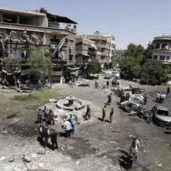 18 killed as car bombers strike Syrian capital Damascus