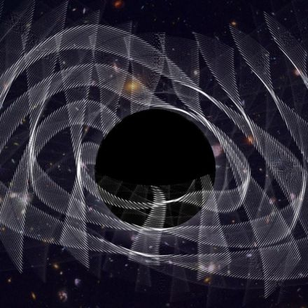 Scientists detect tones in the ringing of a newborn black hole for the first time