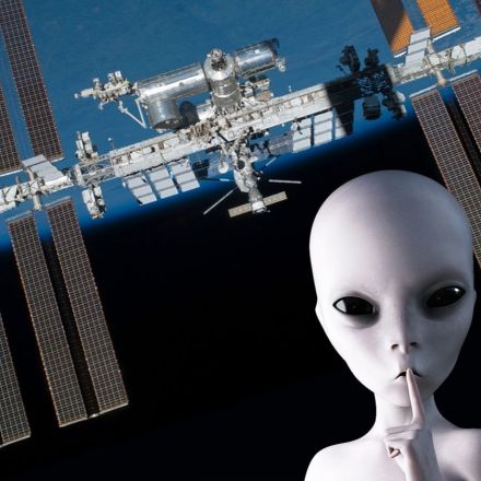 Did Russians Find Alien Life Clinging to the International Space Station?