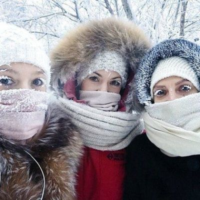 Parts of Russia Are Experiencing -88.6°F Weather