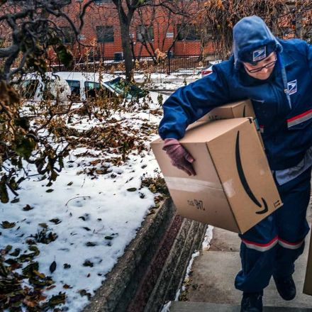 Postal-Service Workers Are Shouldering the Burden for Amazon