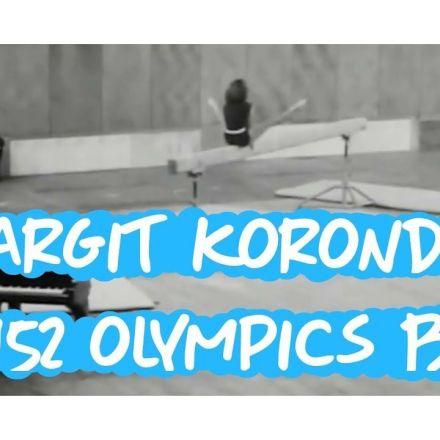 Margit Korondi - 1952 Olympics Gymnastics - Beam