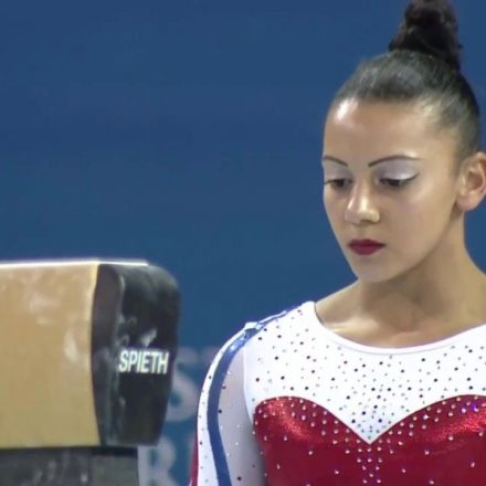 Becky Downie & Her 2017 Beam Routine
